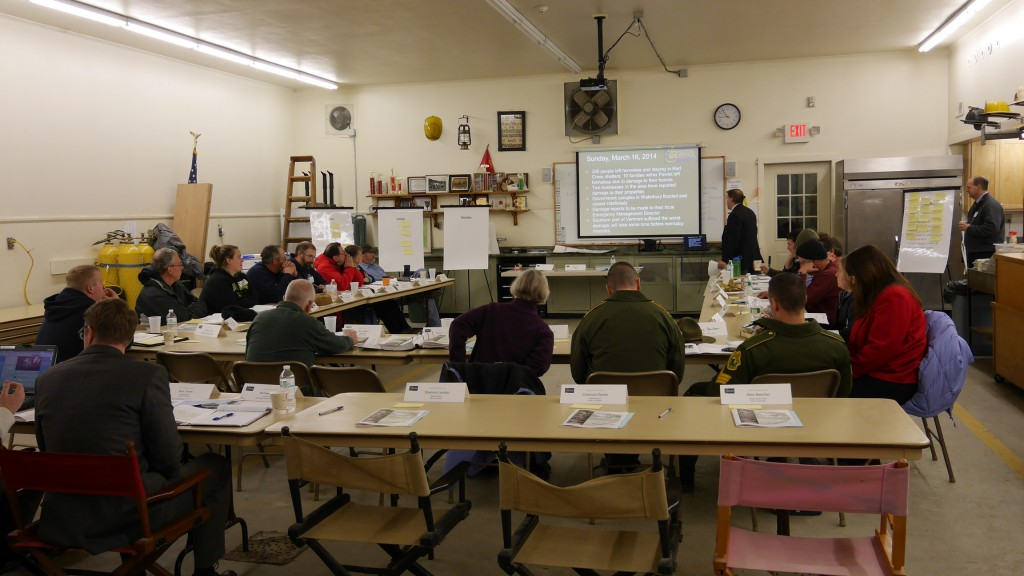 Pawlet Emergency Management Exercise, January 2014